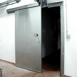 Durvis ražošanas telpām