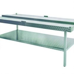 TWO-SIDED CUTTING TABLE